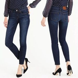 """J.Crew Size 27 9"""" Rise Toothpick Ankle Jeans"""
